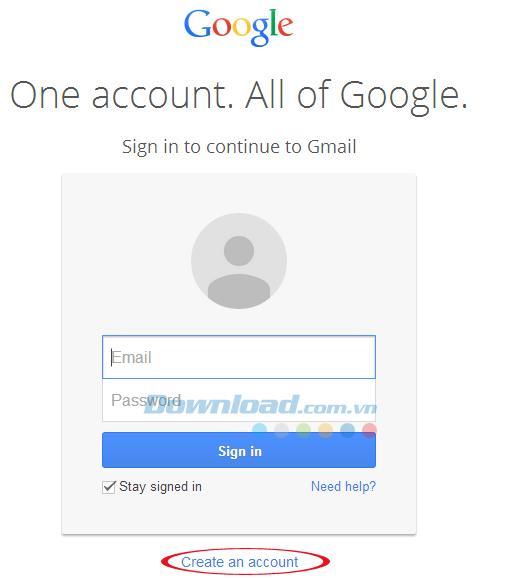 Hướng dẫn chi tiết các bước tạo tài khoản Gmail