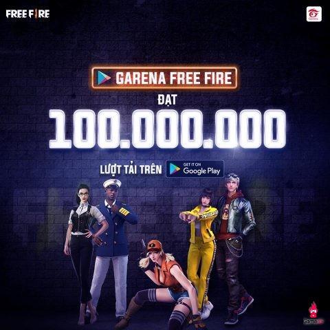 Garena Free Fire đạt mốc 100 triệu lượt download, cuộc đấu khẩu nổ ra với người chơi game PUBG Mobile