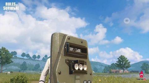 """Khiên Police khiến người chơi game Rules Of Survival """"phát điên"""" ở chế độ góc nhìn người thứ nhất"""