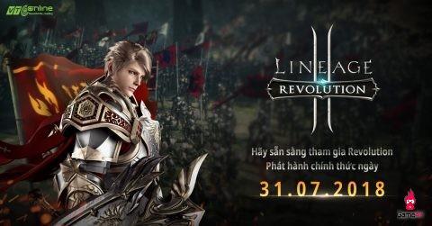 Lineage2 Revolution chính thức ra mắt vào 31/7/2018