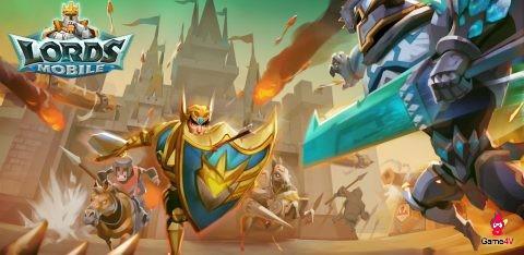Lords Mobile – tựa game chiến thuật thời gian thực 'bỏ túi'… 50 triệu USD/tháng
