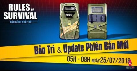 ROS mobile: Thêm vũ khí mới khiên Police cực hot