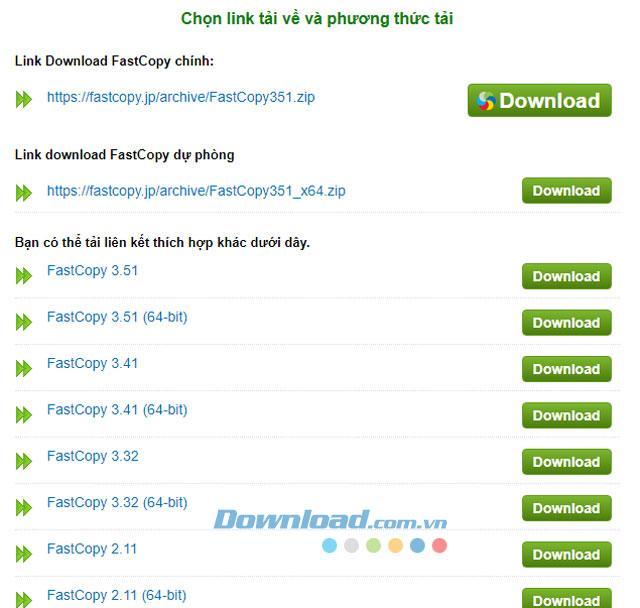 Tăng tốc sao chép file, làm mới copy với phần mềm Fast Copy