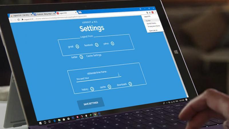 Hướng Dẫn đăng xuất nhanh toàn bộ tài khoản trên Chrome chỉ với 1 click