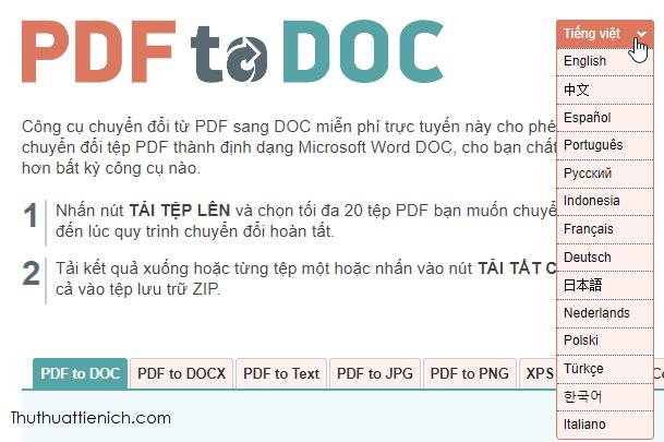 Hướng dẫn hướng dẫn chuyển đổi file PDF sang Word Online nhanh nhất