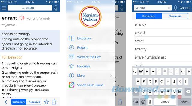 Những phần mềm từ điển tốt nhất cho iPhone và iPad