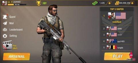 Tựa game cố gắng sống sót sniper đến từ NSX Bullet Strike phát hành open beta ngày hôm nay