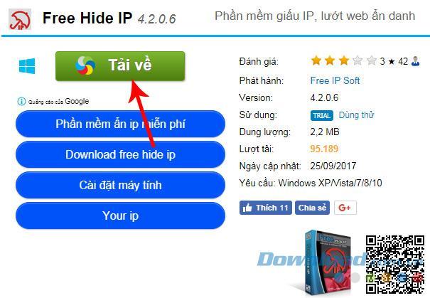 Hướng Dẫn cài và sử dụng HIDE.me VPN để đổi VPN trên máy tính