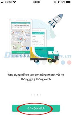 Hướng dẫn tạo tài khoản Viettel Post trên điện thoại