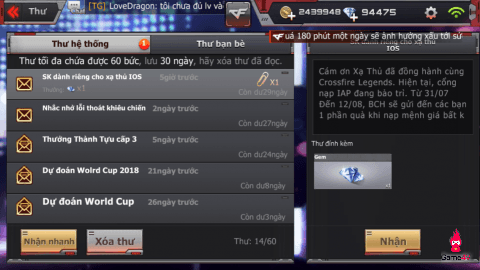 """[CFL] Game thủ IOS """"bối rối"""" với sự kiện mới"""