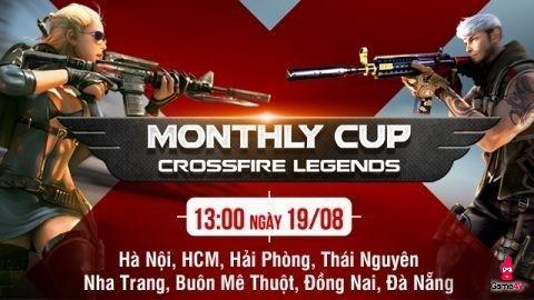 CFL Monthly Cup tháng 8 thu hút người chơi game Việt khắp cả nước tham gia tranh tài