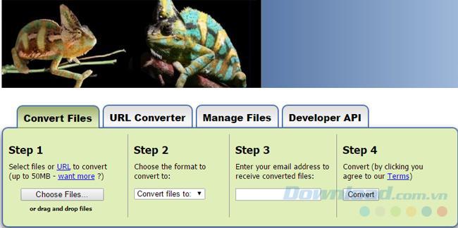 Convert file ODS thành XML, PDF và các định dạng khác