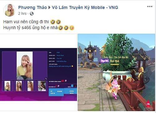 """Dàn mỹ nữ """"báo danh"""" Miss Võ Lâm Truyền Kỳ Mobile đã lên đến vài ngàn người"""