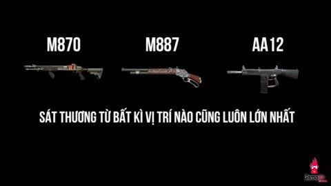 Dù được tăng sức mạnh, Shotgun trong ROS vẫn chưa thể thay thế dòng SMGs ở slot 2