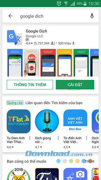 Hướng dẫn dịch văn bản trong ảnh với Google Translate
