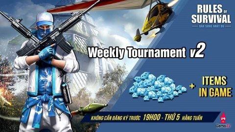 Nhanh tay tranh tài cùng ROS Mobile Weekly Tournament vào 19h ngày 9/8