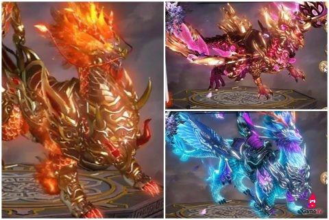 Những ảnh đẹp đầu tiên về thần binh, thần thú trong Phong Vân VTC