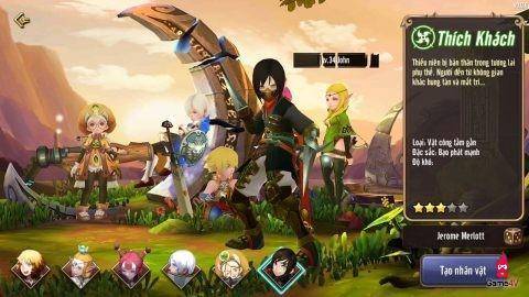 Những thuật ngữ cơ bản dành cho thánh game mới trong game sắp ra mắt Dragon Nest Mobile VNG