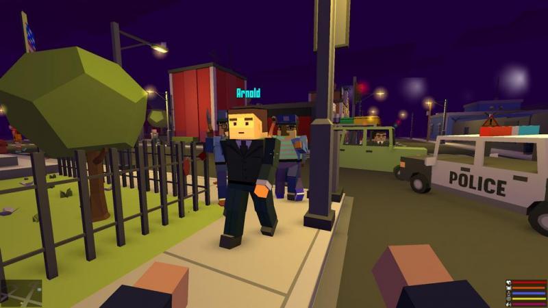 [máy tính] BROKE PROTOCOL - Game kết hợp giữa GTA và Minecraft đang được tặng miễn phí trên Steam