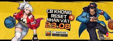 Download game Bóng Rổ Mobi ngay hôm nay, Close Beta 9h ngày 23/8 nhận quà tặng 7 ngày hấp dẫn