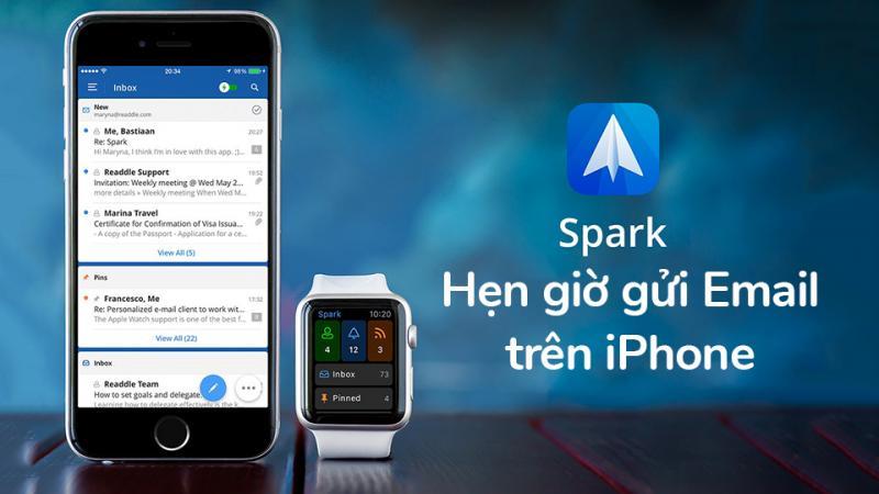 Hướng dẫn hướng dẫn hẹn giờ gửi email trên iPhone/ iPad