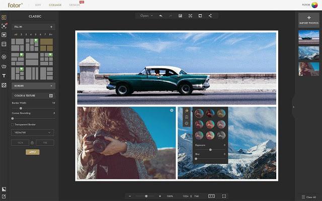 Một số phần mềm ghép ảnh tốt nhất trên máy tính