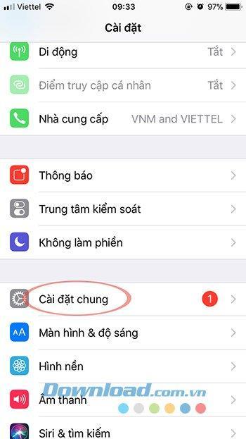 Hướng dẫn chi tiết hướng dẫn nâng cấp iOS 12