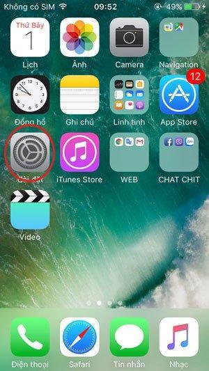 Hướng dẫn hướng dẫn chuyển vùng iPhone để setup phần mềm Hago