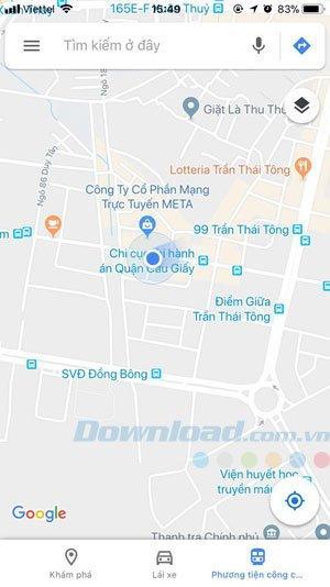 Hướng Dẫn đặt xe Grab trên phần mềm Google Maps