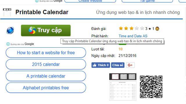 Hướng dẫn hướng dẫn tạo lịch năm mới liên tục