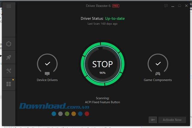 Hướng dẫn sử dụng những tính năng sẵn có trên IObit Driver Booster
