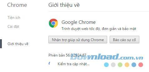 Hướng Dẫn ngăn cấm Chrome tự động update