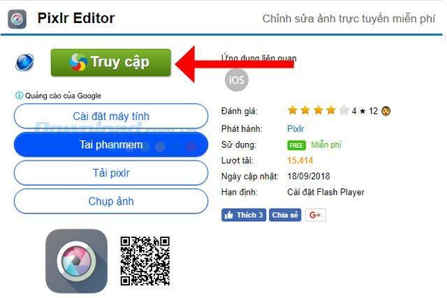 Hướng dẫn hướng dẫn xóa phông, làm mờ ảnh bằng Photoshop Online