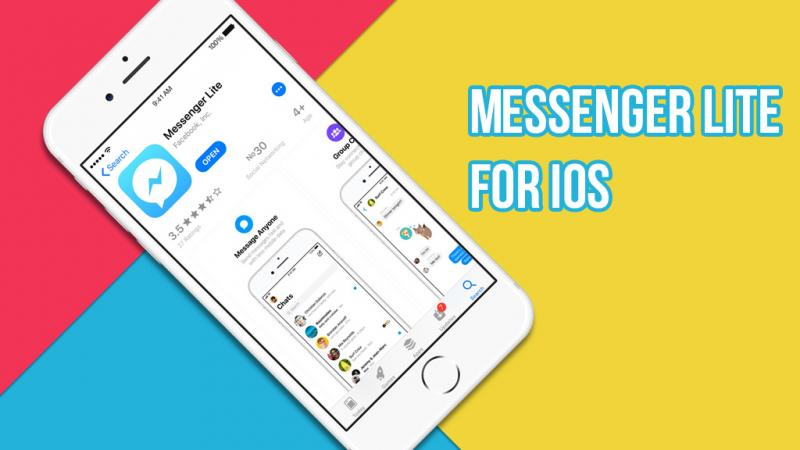Hướng dẫn sử dụng phiên bản Messenger Lite trên iOS