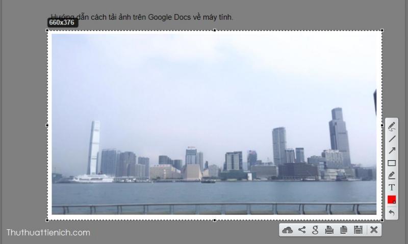 Hướng dẫn download ảnh đẹp trên Google Docs về máy tính