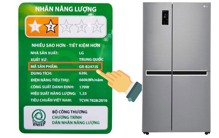 Hướng dẫn hướng dẫn sử dụng bảng điều khiển tủ lạnh LG GR-B247JS