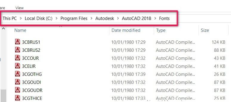 Download Font AutoCad Full – Sửa lỗi Font tiếng Việt trên AutoCad