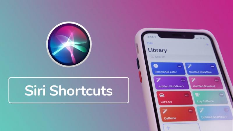 Những phím bỏ hữu ích của Siri Shortcuts trên iPhone