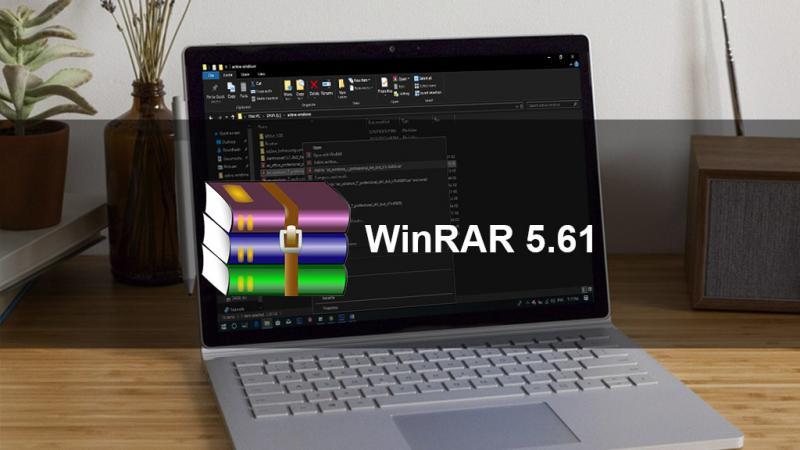 WinRAR 5.61 ra mắt bản final sau nhiều thử nghiệm