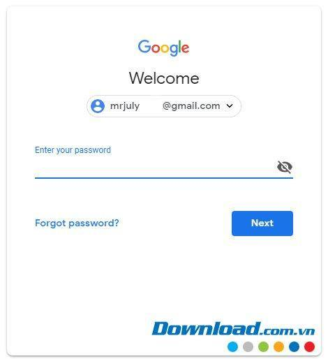 Các hướng dẫn đăng nhập Gmail trên máy tính