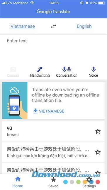 Hướng Dẫn dịch tiếng Việt sang ngôn ngữ khác bằng Google Dịch ảnh