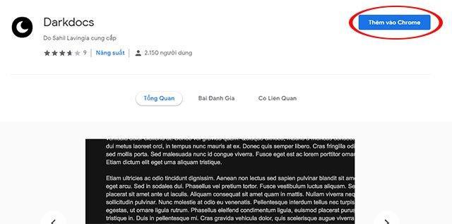 Hướng dẫn bật chế độ nền tối khi gõ văn bản trên Google Docs