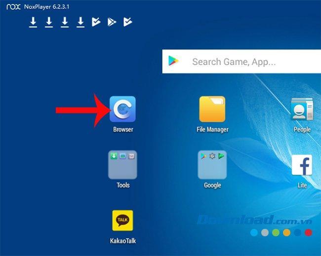 Hướng dẫn download ảnh, download video từ trên mạng về giả lập NoxPlayer