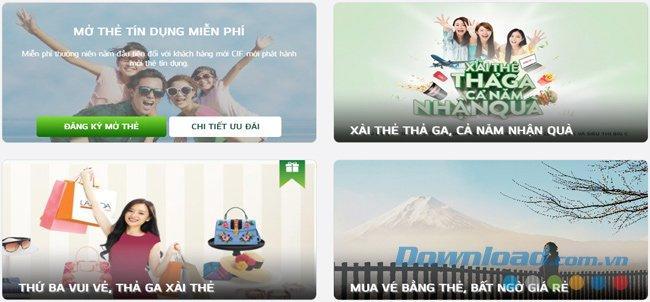 Hướng dẫn mở thẻ ATM, đăng ký tài khoản ATM Online