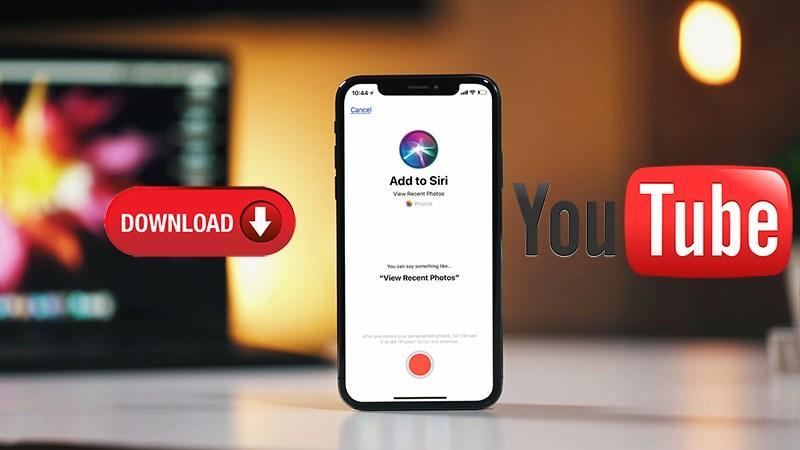 Hướng dẫn download video YouTube bằng trợ lý ảo Siri trên iOS 12