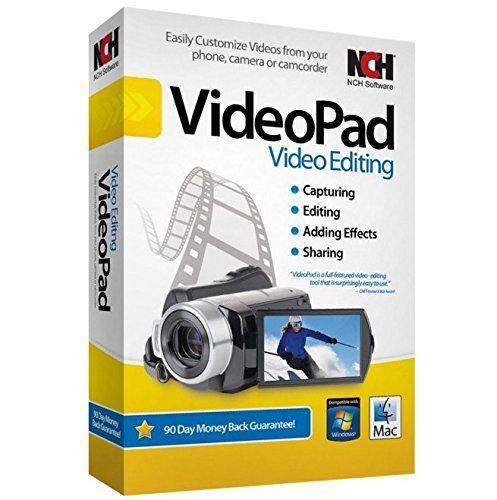Download NCH VideoPad Video Editor 6.32 Cr@ck – Phần mềm chỉnh sửa Video, clip