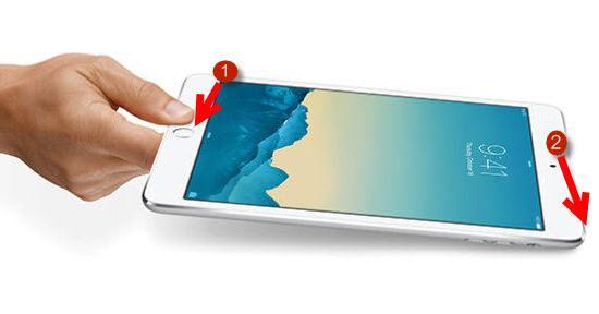 Hai hướng dẫn chụp màn hình iPad Mini 1 đơn giản, nhanh chóng