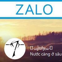 Hướng dẫn thay ảnh Avatar Zalo trên máy tính