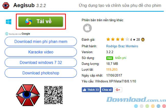 Hướng dẫn hướng dẫn download và setup Aegisub trên máy tính nhanh chóng, đơn giản