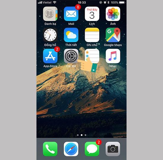 Hướng dẫn hướng dẫn bật bỏ nút Home ảo trên iPhone đơn giản, nhanh nhất